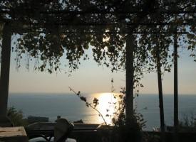 Zalazak sa pogledom na Jadransko more