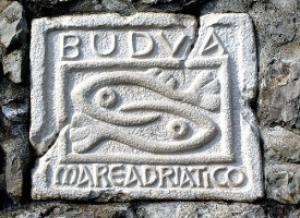 simbol Budve - dve ribe