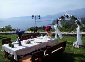 Vjenčanje uz pogled na more